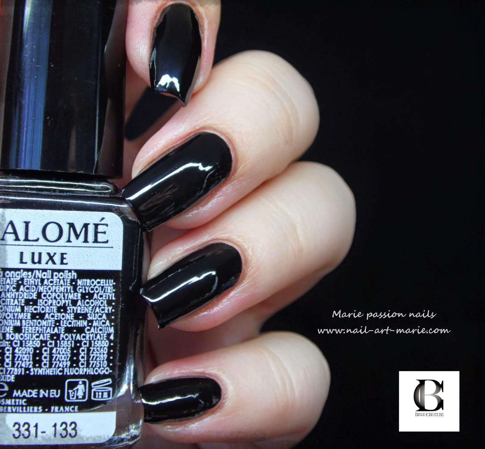 vernis Salomé noir1