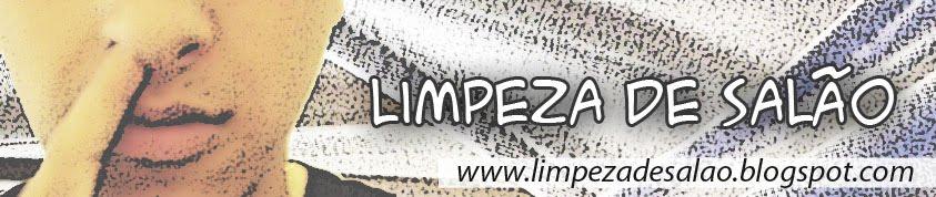 LIMPEZA DE SALÃO