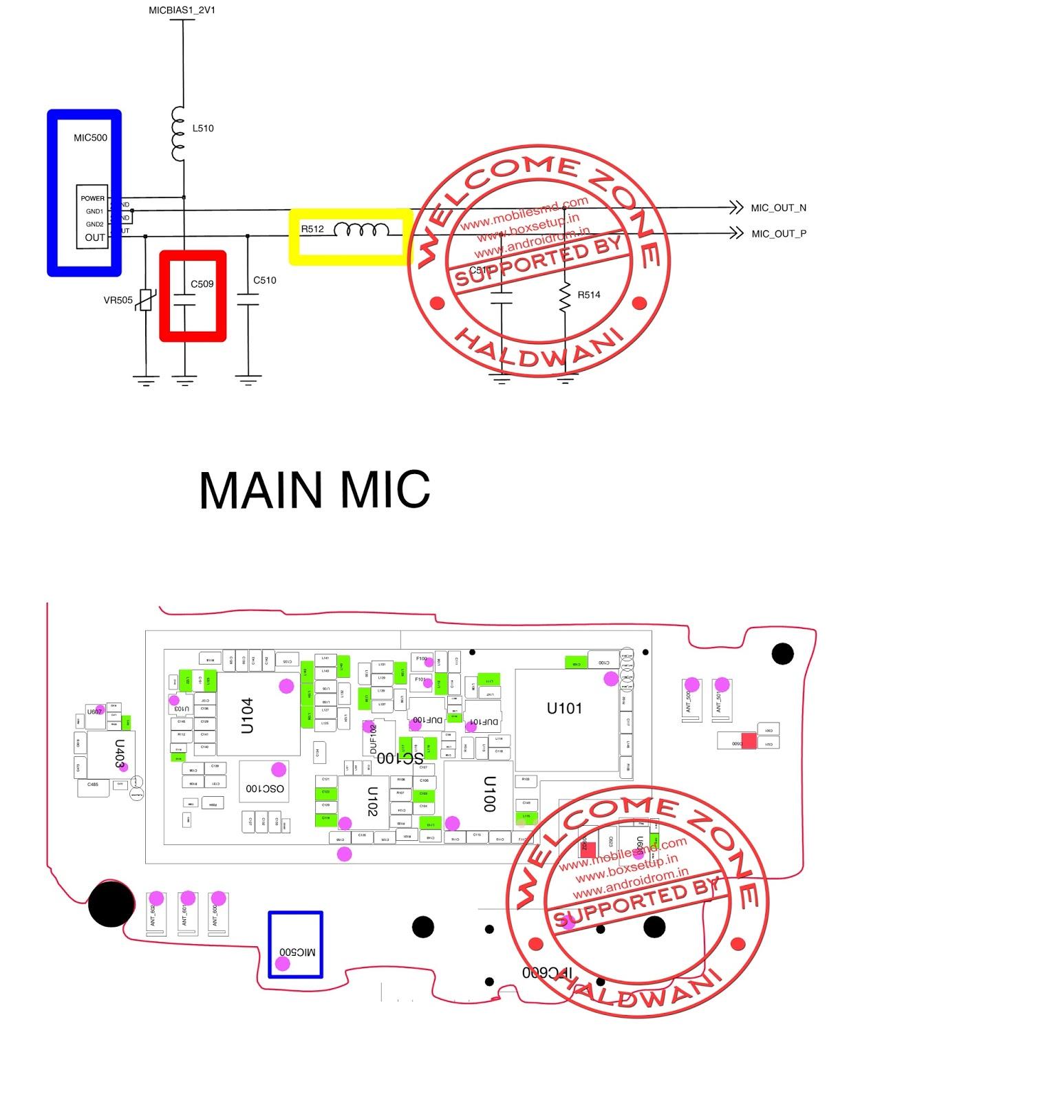 Samsung Galaxy Grand I9082 Microphone  Main Mic Solution