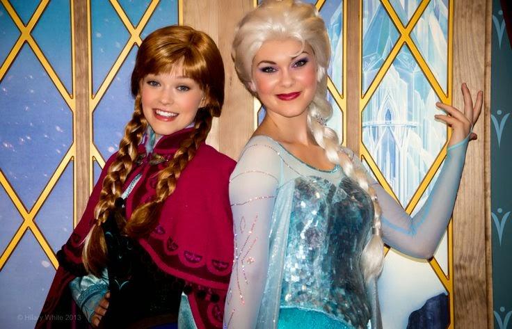 Foto Frozen Putri Anna dan Putri Elsa Asli Film Terbaru Walt Disney
