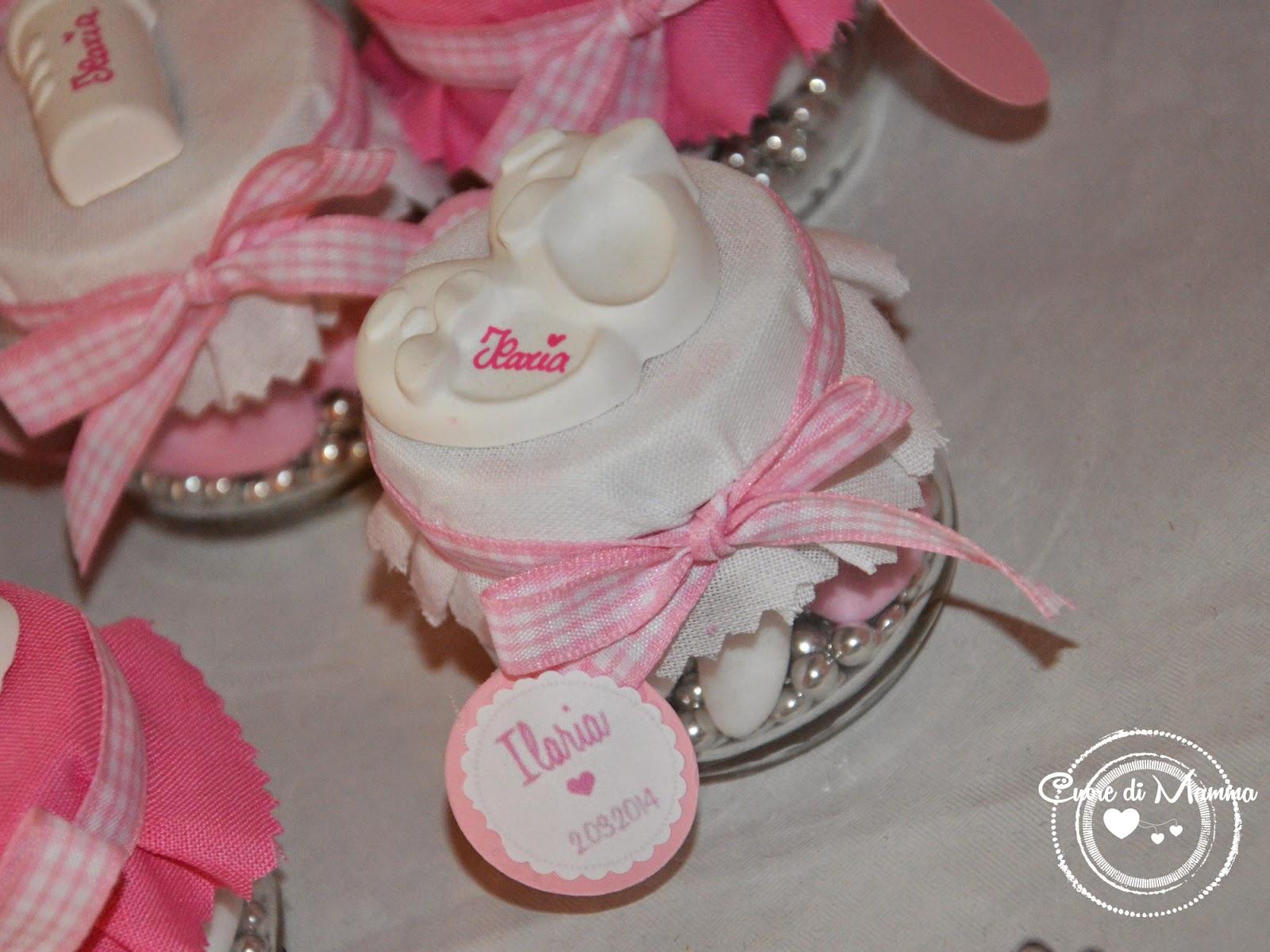 Bien connu Cuore di mamma: Un battesimo in bianco e rosa KH06