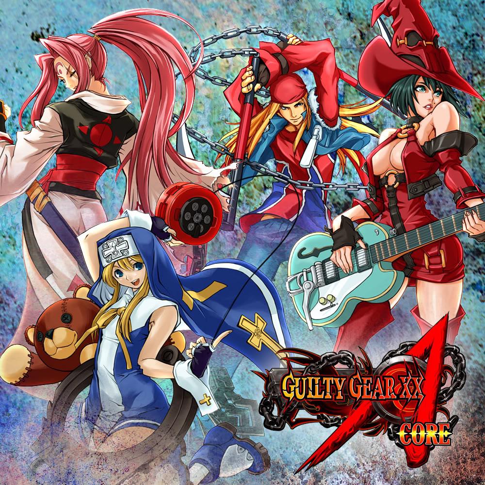 Guilty Gear XX Accent Core [Naomi]