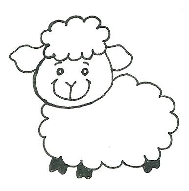 rose amarartes ovelhas para colorir