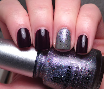 Revlon Bold Sangria OPI Suzi Takes the Wheel China Glaze Prism
