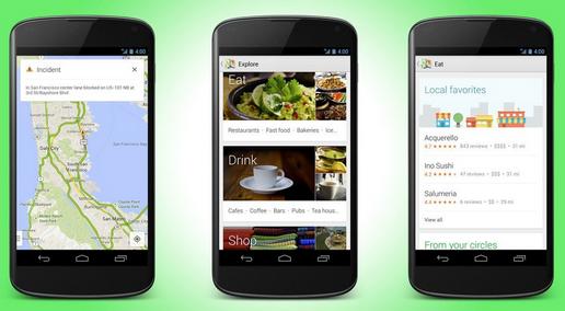 Desain Baru Google Maps untuk Android