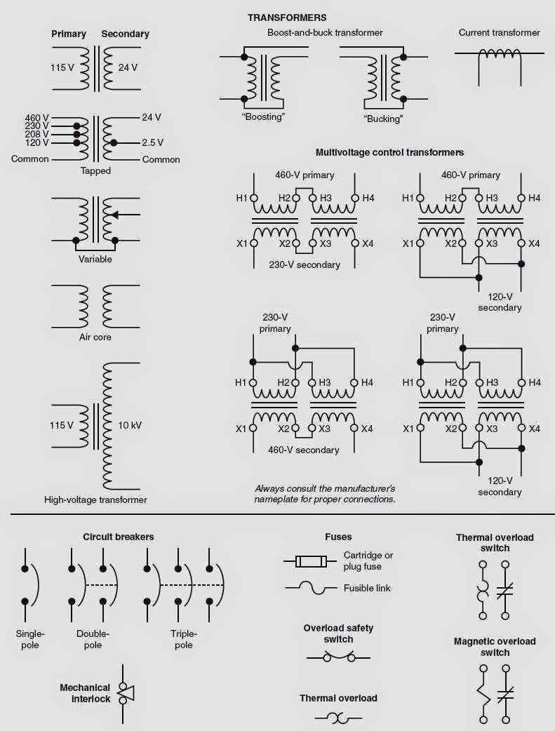 Electrical Wiring Diagrams for Air Conditioning Systems – Part One ~  Electrical Knowhow | Hvac Wiring Symbols |  | Electrical Knowhow