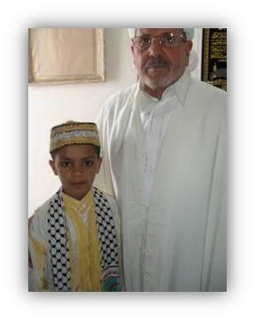 وزير الشؤون الدينية الجزائرية والفتى محمد اسلام