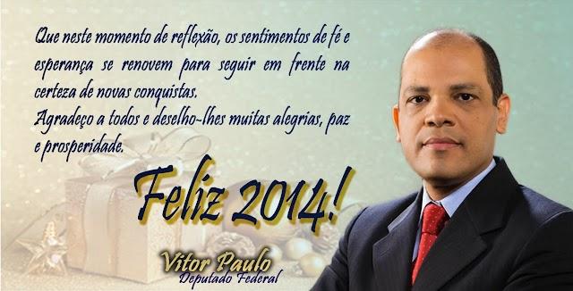 MENSAGEM DE NATAL DEPUTADO FEDERAL VITOR PAULO