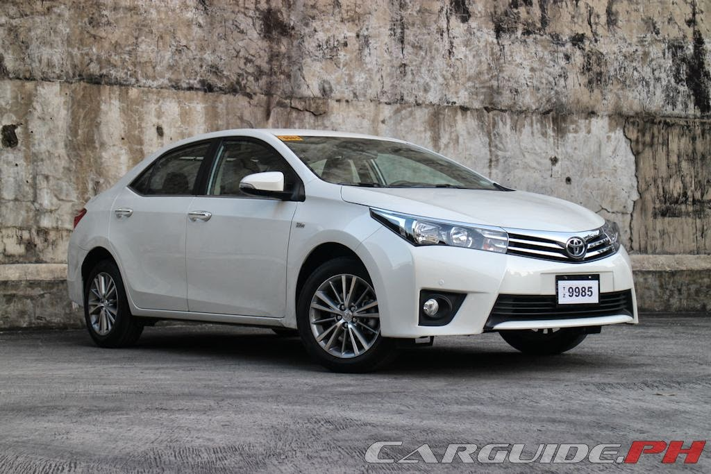review 2014 toyota corolla altis 1 6 v philippine car news car reviews and prices carguide ph. Black Bedroom Furniture Sets. Home Design Ideas
