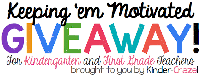 AWESOME giveaway for K-1 teachers!