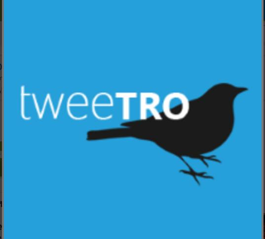 Tweetro is a Twitter client built for the touch interface of Windows 8