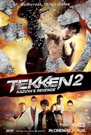 Tekken 2: A Man Called X 2014 poster