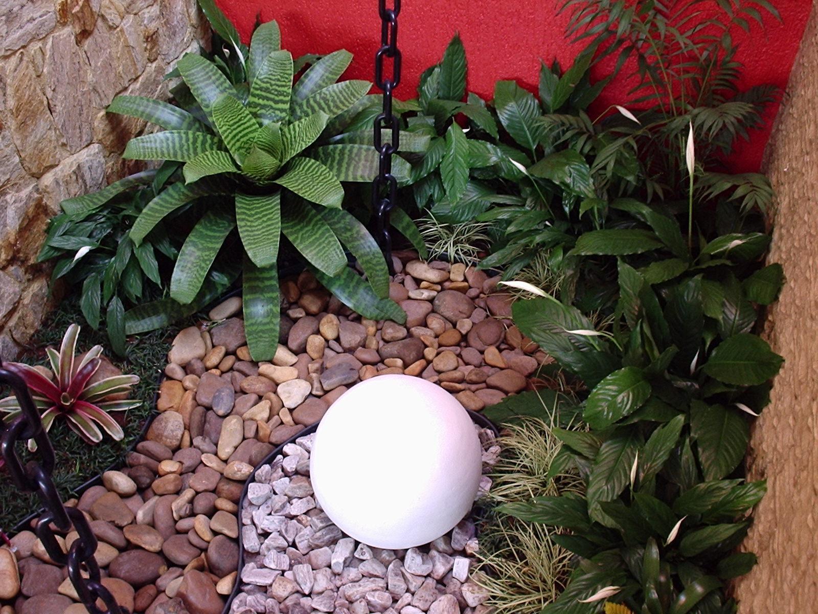 Meekness Vida MAIS! -> Como Decorar Um Jardim Pequeno