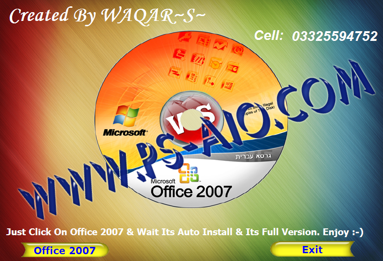 download microsoft office professional 2007 full version