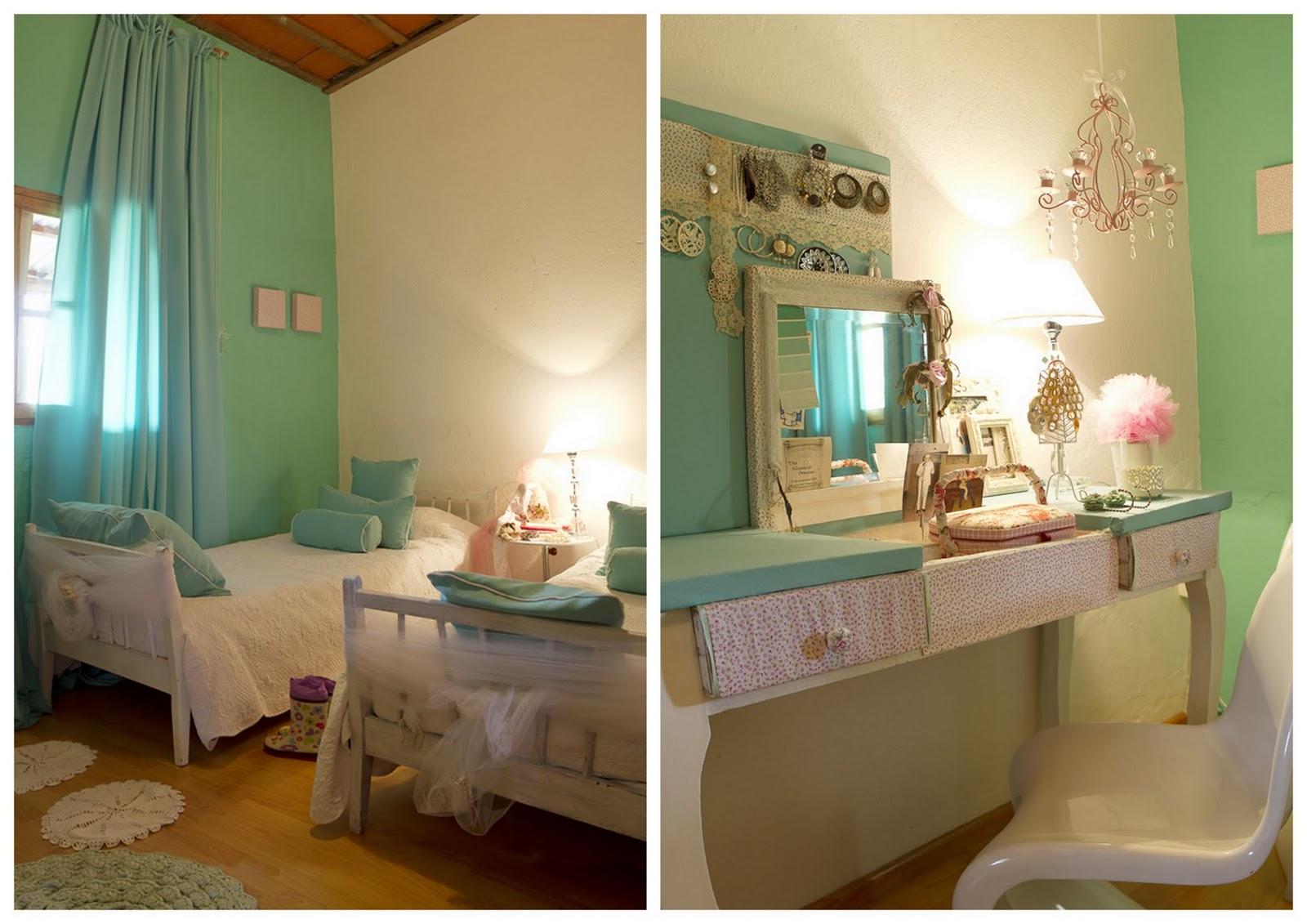 Hogar dulce hogar el sue o de valeria se hizo realidad for Dormitorio verde agua
