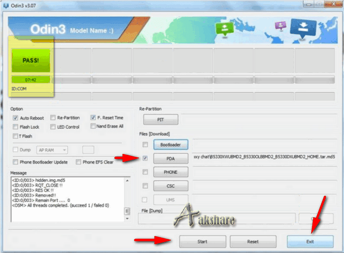 Cara Flashing / Install Ulang Samsung Galaxy Chat GT-B5330