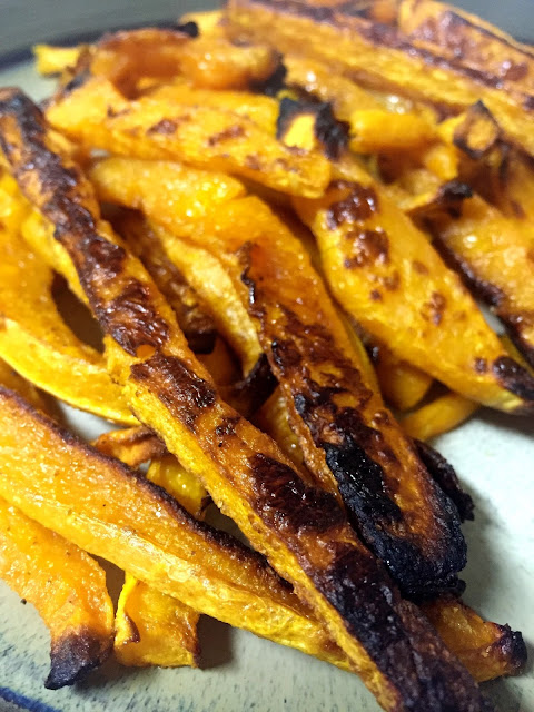 butternut squash fries, spicy, clean eating, healthy recipe, fall food, yum, dinner, side dish