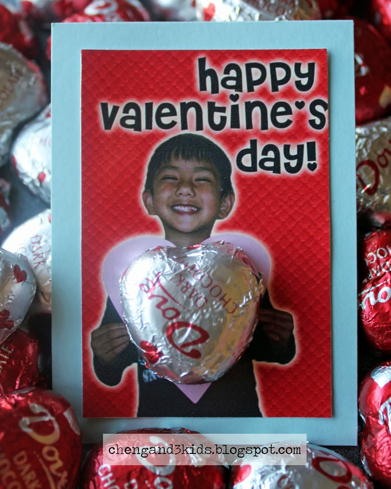 Cheng and 3 Kids : Classroom Valentine's Day Idea