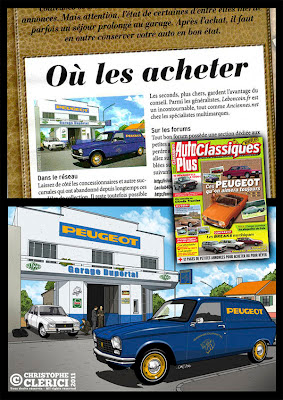 les illustrations de christophe article dans auto plus classiques n 3. Black Bedroom Furniture Sets. Home Design Ideas