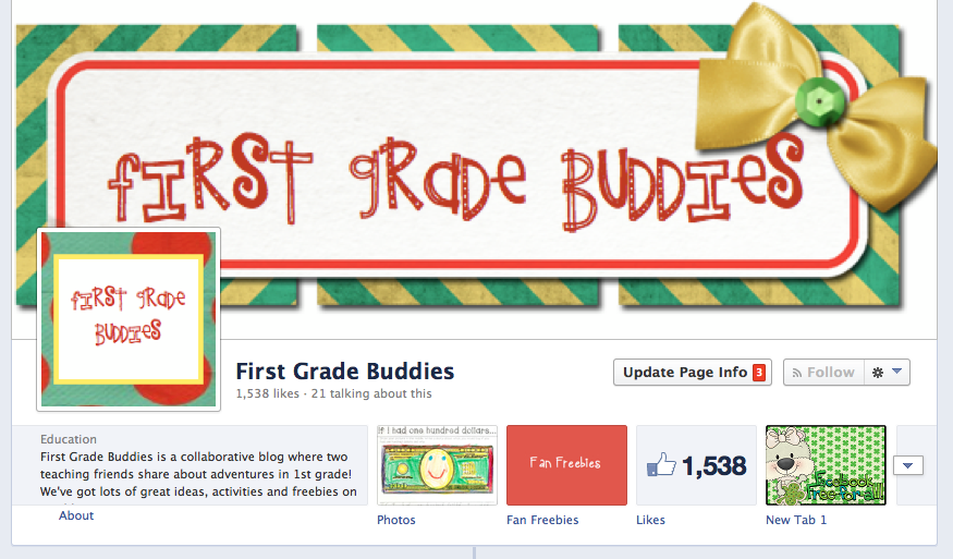 https://www.facebook.com/FirstGradeBuddies