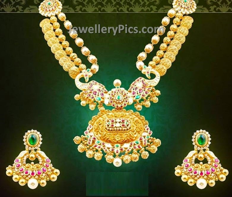 kasulaperu with kundan locket