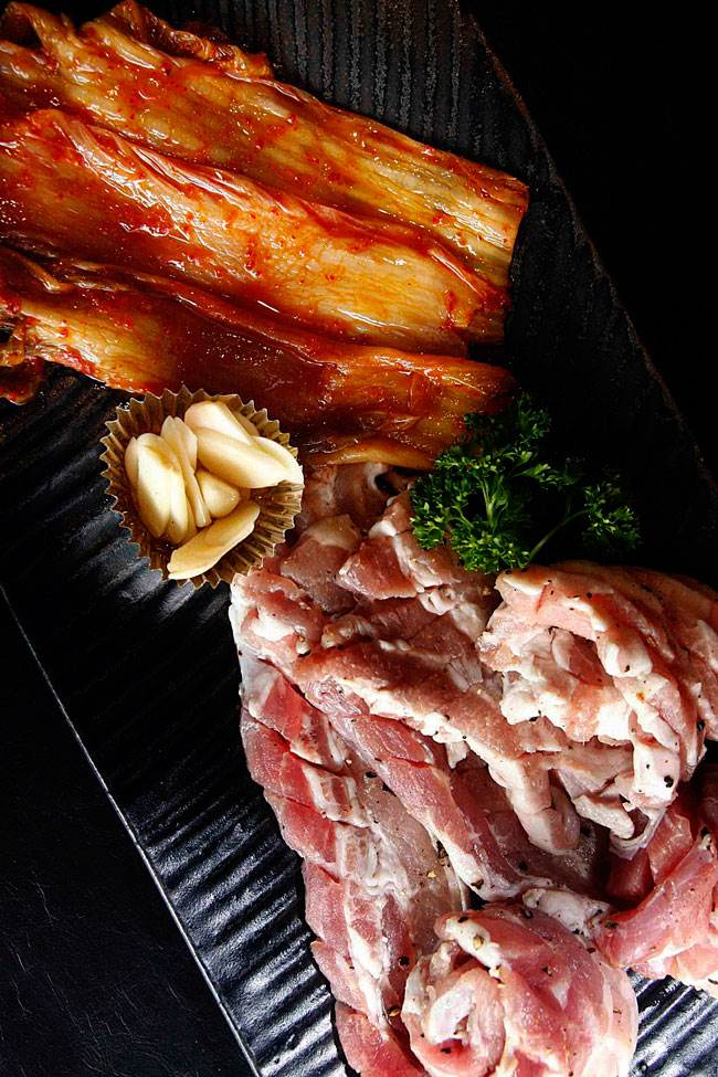 Yoree Korean Barbecue samgyupsal
