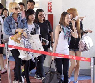 Foto 2NE1 di Bandara Filipina 2