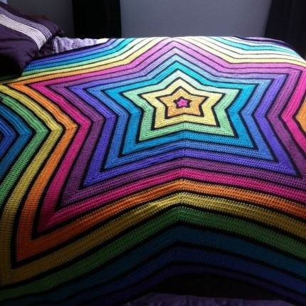 Chromium Star Blanket - Free Pattern