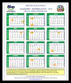 Calendario Epidemiologico 2012