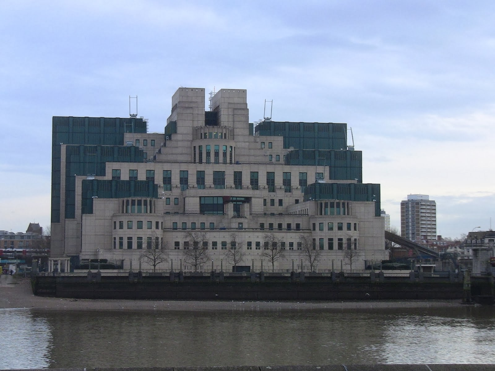 le bâtiment des services secrets britanniques