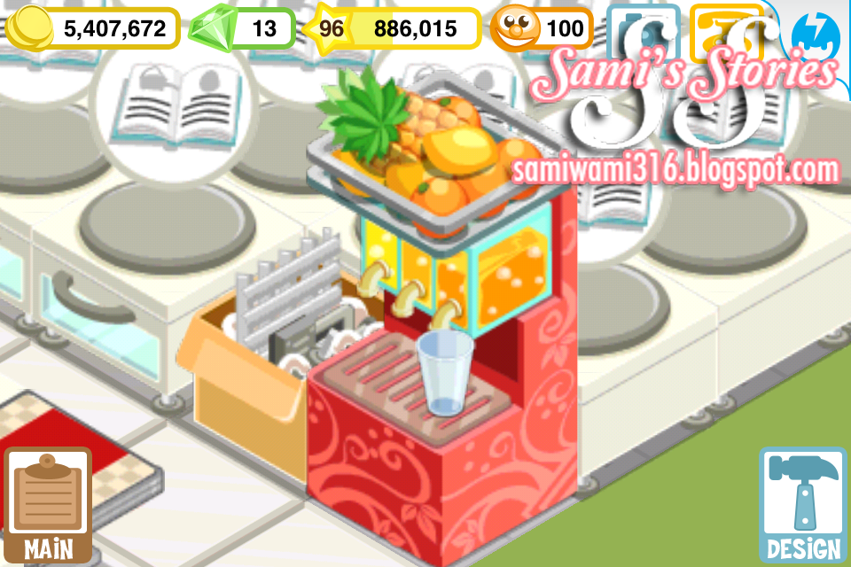 juice machine restaurant story