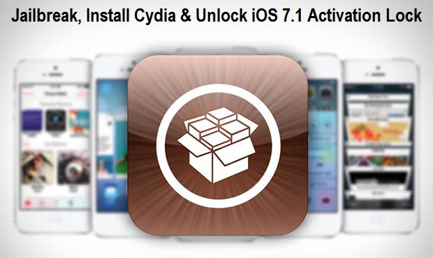 Jailbreak, Install Cydia & Unlock iOS 7.1 Activation Lock on iPhone