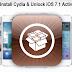Unlock iOS 7.1 Activation Lock & Jailbreak, Install Cydia on iOS 7.1