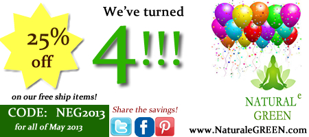 Natural e GREEN Health Wellness Store Turns 4