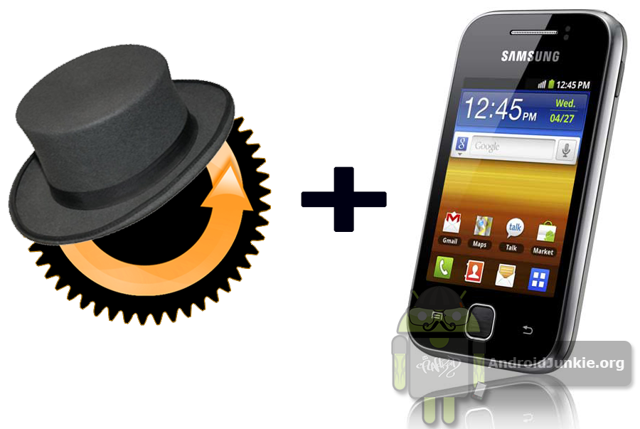 How to Flash the Clockworkmod Recovery on Samsung Galaxy Y