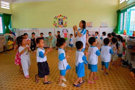 nâng cao chất lượng giáo dục ở trường mầm non