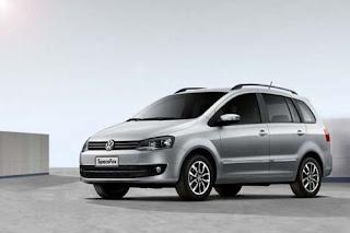 Fotos do Novo SpaceFox 2014 da Volkswagen dianteira