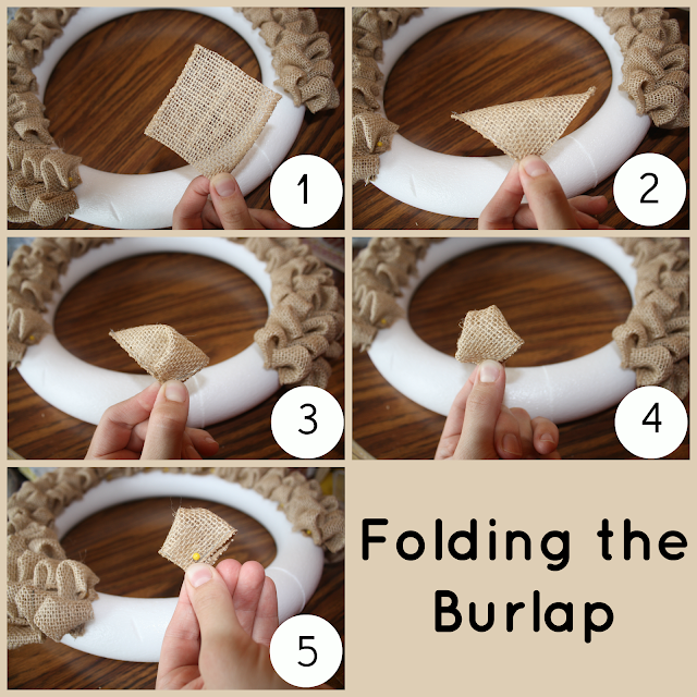 Skinny jeans burlap bubble wreath for How to use burlap ribbon