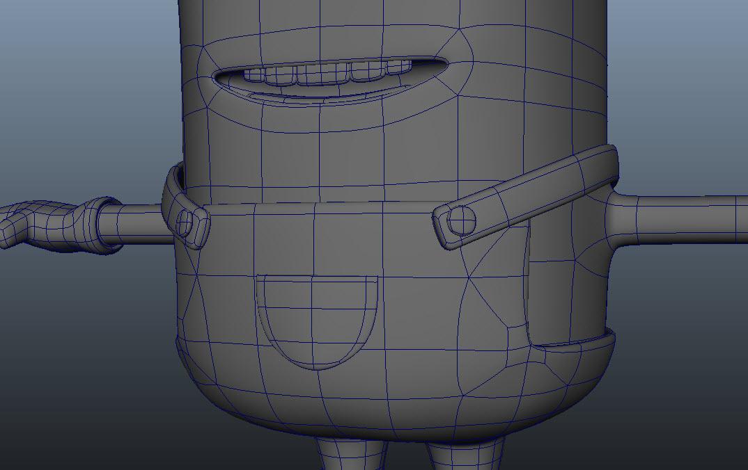 Minion Modeling P3 H