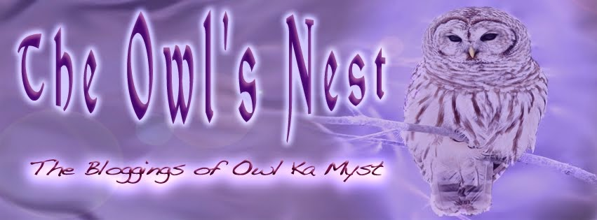 The Owl's Nest ~ Owl Ka Myst Tarot Blog