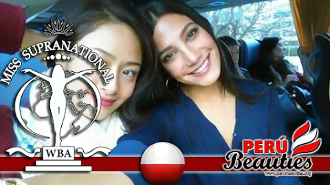 Primeras imágenes de Perú en Miss Supranational 2015