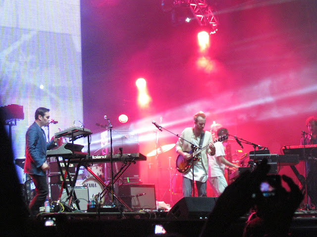 Hot Chip at Lovebox festival