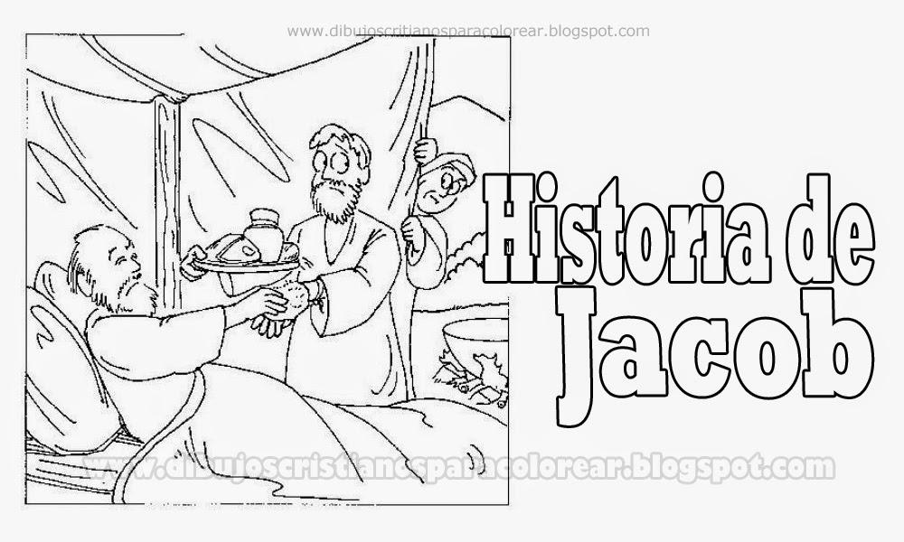 Contemporáneo Jacob Y Esau Para Colorear Imprimibles Foto - Dibujos ...