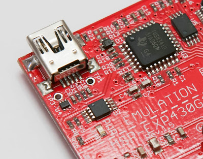 MSP430 Launchpad Detail