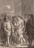 Sancho como gobernador de la Insula Barataria