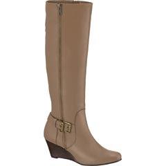 Zapato cerrado, bota beige dama modelo 6409