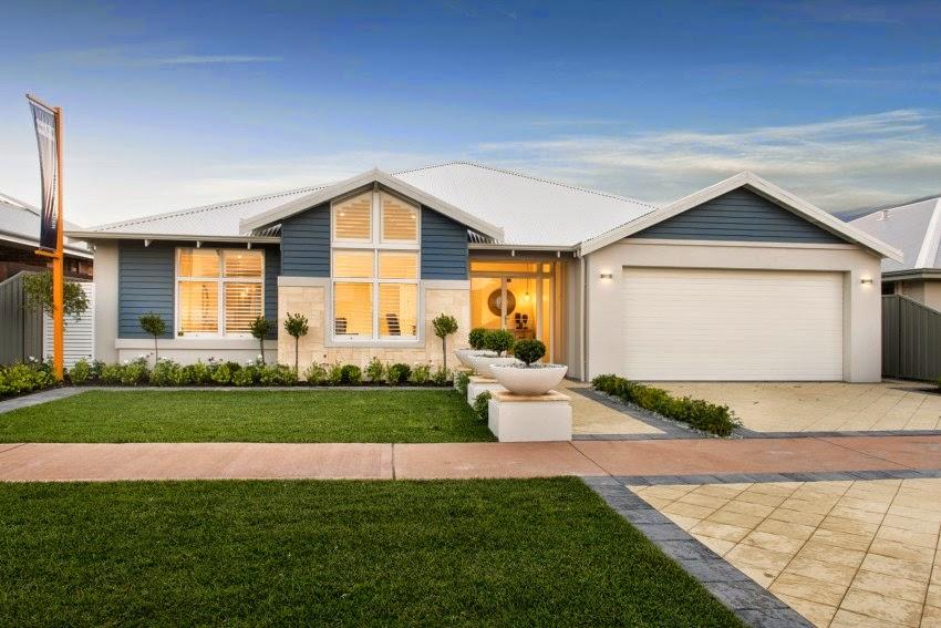 Modern Home Design: Modern The Hampton Beach by WA Country Builders