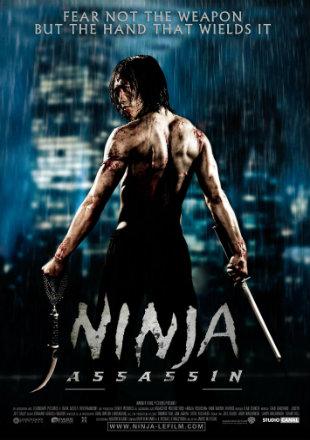 Ninja Assassin 2009 Dual Audio Hindi 300MB BluRay 480p x264
