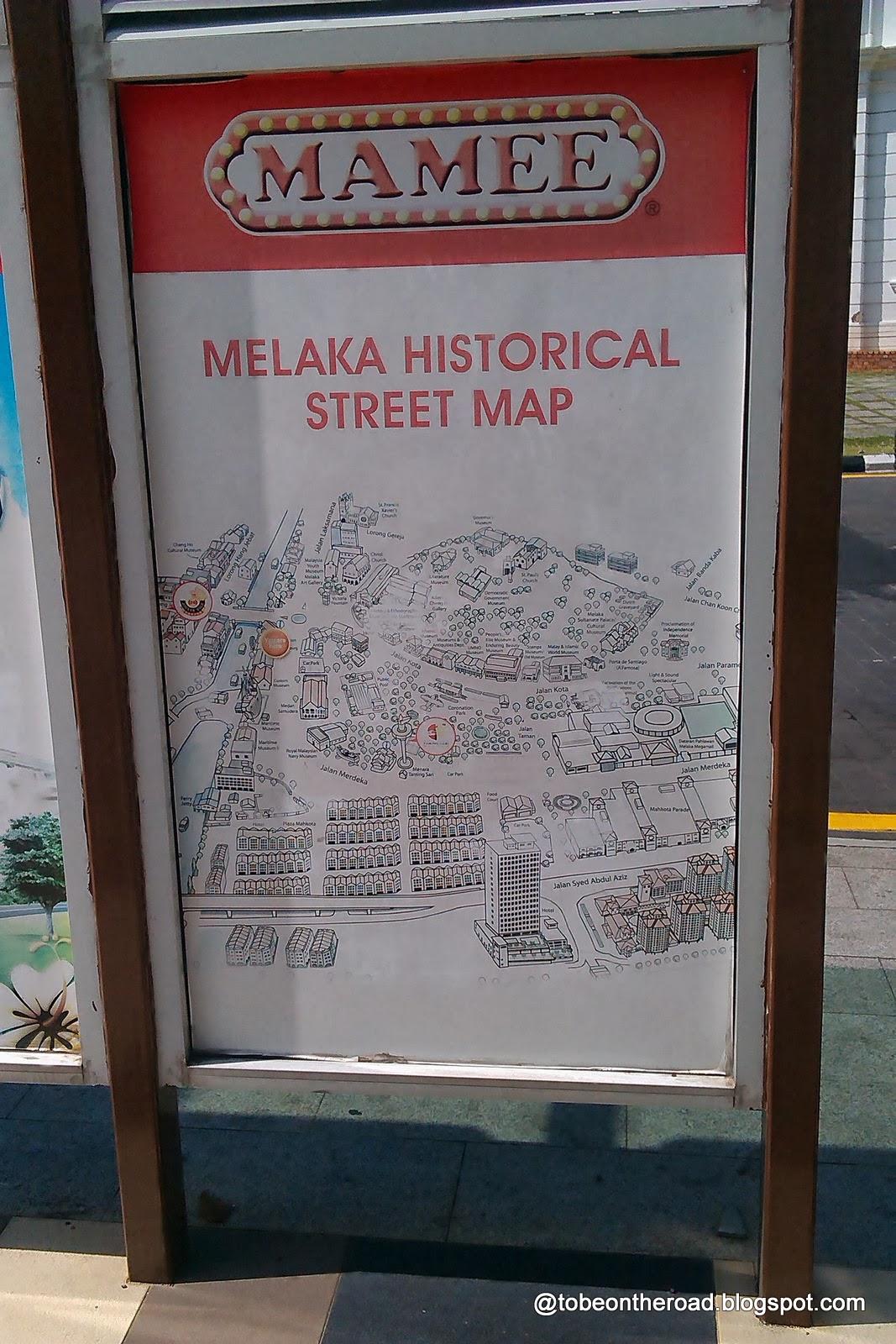 Street Scenes Of Melaka