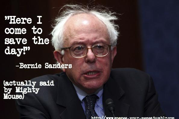 """<b><a href=""""http://BernieSanders.com/""""> Go Bernie! Bernie Sanders 2016</a></b>!"""